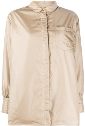 Aspesi Concealed Button-Up Shirt Coat