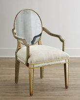 John-Richard Collection Lela Eglomise Armchair