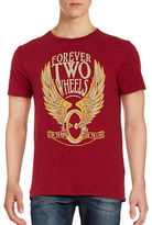 Lucky Brand Forever Two Wheels Tee