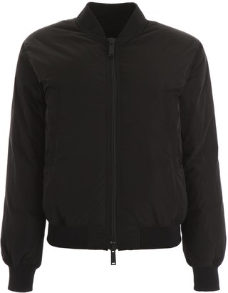 DSQUARED2 Icon Print Padded Bomber Jacket