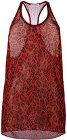 Faith Connexion leopard print vest - women - Silk - XS