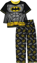 Komar Kids Batman Black & Yellow Pajama Set & Cape - Boys