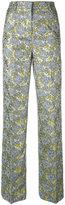 Essentiel Antwerp - Netro jacquard trousers - women - Cotton/Acrylic/Polyester - 36