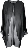 Halston sheer evening jacket