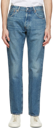 Levis Made and Crafted Blue 501 93 Straight Jeans