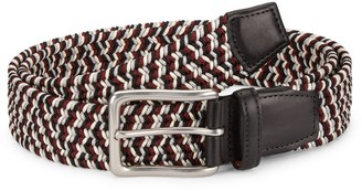 Saks Fifth Avenue COLLECTION Braided Woven Belt