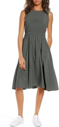 Zella Rosie Sleeveless Woven Dress