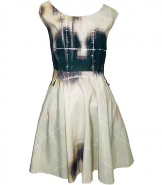 Mulberry Multicolour Cotton Dress for Women