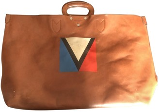 Louis Vuitton Brown Leather Bags