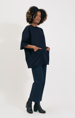 Shio Navy Tunic Dress - S/M | navy - Navy
