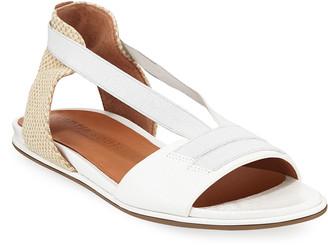 Gentle Souls Lark Elastic Flat Patent Sandals