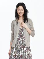 Banana Republic Open-Front Merino Wool Cardigan