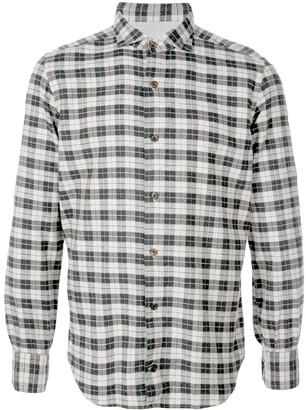 Eleventy Plaid Button Shirt