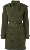 Burberry 'Balmoral' hooded raincoat - women - Polyester/Cupro - 4