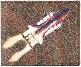 Etro rocket print wallet