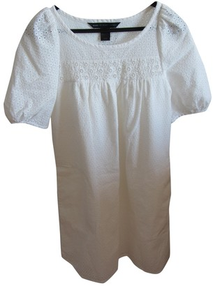 Marc by Marc Jacobs White Cotton Dresses