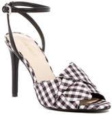 Nine West Twisted Gingham Stiletto Sandal