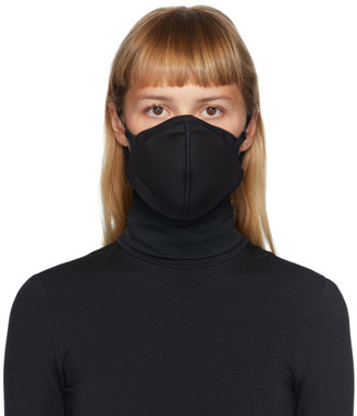 Wolford Black Jersey Face Mask