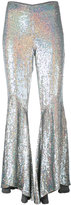 Ashish sequin asymmetric flares - women - Silk - S