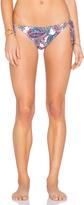 Shoshanna Capri Paisley String Bikini Bottom