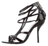 Christian Dior Patent Leather Sandals