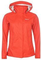 Marmot Womens PreCip Waterproof Jacket Coat Top Long Sleeve Chin Guard