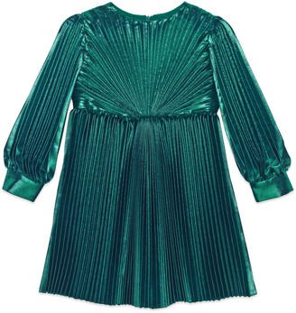 Gucci Children's silk lame dress