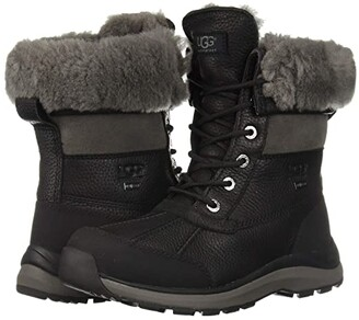 UGG Adirondack Boot III (Black) Women's Cold Weather Boots