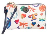 Tory Burch Printed Leather Wallet