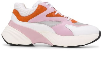 Pinko Maggiorana colour-block sneakers