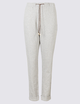 M&S Collection Drawstring Textured Joggers
