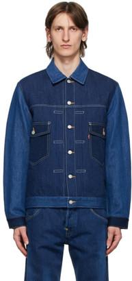 Junya Watanabe Indigo Levis Edition Linen Denim Jacket