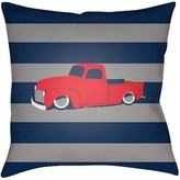 Surya Truck Throw Pillow