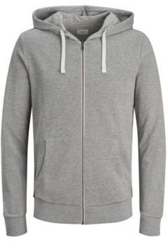 Jack and Jones Men's Full-Zip Long Sleeve Hoodie Sweatshirt