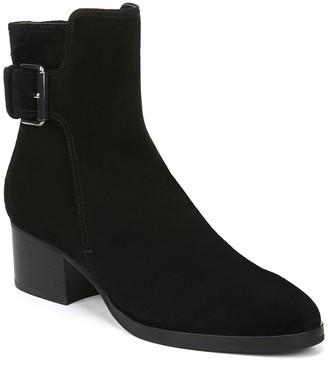 Via Spiga Ovelle Suede Block Heel Boot