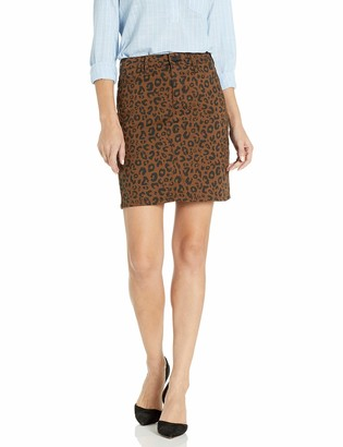 Sanctuary Women's Sia Short Length Leopard Print Skirt 24