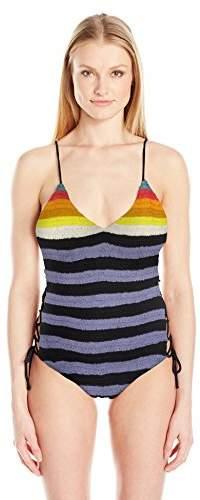 Mara Hoffman Women's Side Tie One Piece Swimsuit