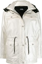 Karl Lagerfeld Paris drawstring waist jacket