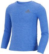 adidas Girls 2-6x Long Sleeve Melange T-Shirt