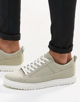 Asos Sneakers in Gray With Cleated Sole