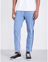 Plac Dublin Side-stripe Regular-fit Straight-leg Jeans