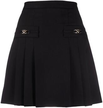 Sandro Pleated Mini Skirt