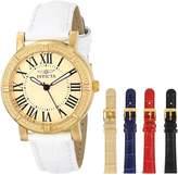 Invicta Women's 14892 Wildflower Analog Display Japanese Quartz White Watch