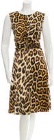 Just Cavalli Printed Sleeveless Dress