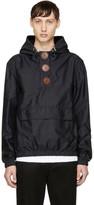 Givenchy Black Oversized Buttons Windbreaker Jacket