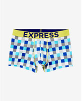 Express small check sport trunk