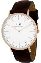 Daniel Wellington Classic Bristol Collection 0109DW Men's Analog Watch