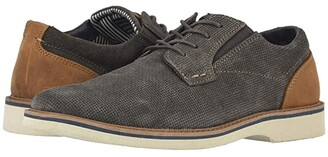 Nunn Bush Barklay Plain Toe Oxford (Gray w/ Light Sole) Men's Shoes