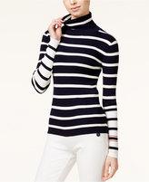 Tommy Hilfiger TOMMYXGIGI Striped Turtleneck Sweater