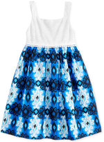 Good Lad Floral-Print Sundress, Toddler and Little Girls (2T-6X)